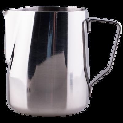 Stainless steel milk pitcher with volume marker 500 ml