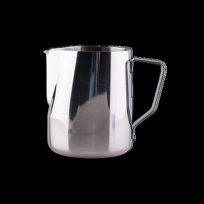 Stainless steel milk pitcher with volume marker 340 ml