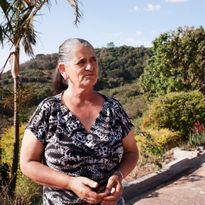 Gertrudes dos Santos - Sitio Boa Vista, Brazílie